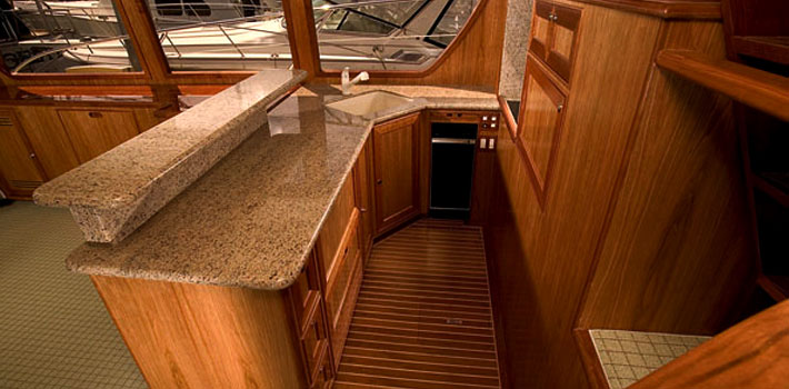 58 'pilothouse interieur