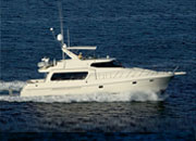 Iate do pilothouse de 58ft