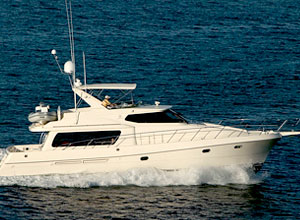 58ft yacht - Pilothouse