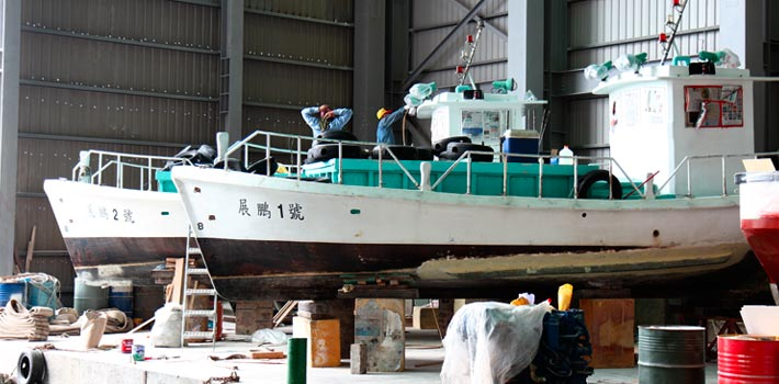 SeaFa fishing boat building