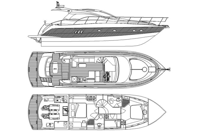 SSF conception x54ft yacht