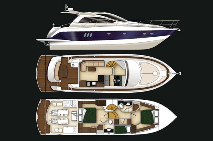 SSF x54ft yacht design
